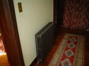 School radiator, supplied and installed by HWCH