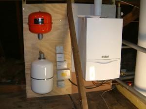 Vaillant 637 boiler on HWCH carpentry