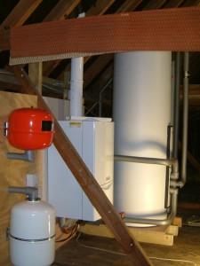 Vaillant uniSTOR 260 pressurised cylinder