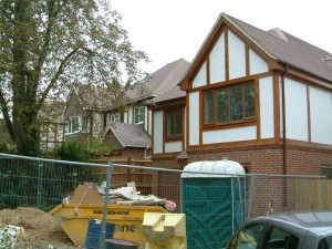 New build property in Purley, Surrey.  WC price on application.