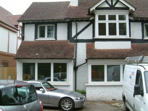 The object of our works, on the Purley/Coulsdon borders