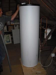 Tim holding up the uniSTOR 260