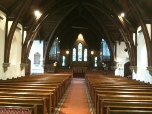 Interior view of St John the Evangelist
