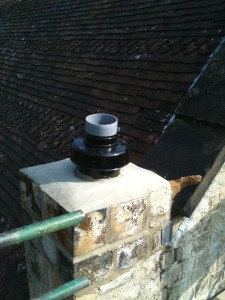 Finished chimney termination