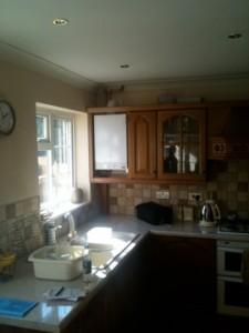 Neat kitchen integration