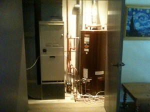 Johnson & Starley Warm Air and AO Smith Water Heater