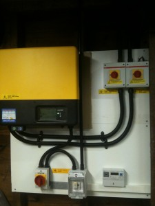 SMA TL3000 Inverter and isolation/metering