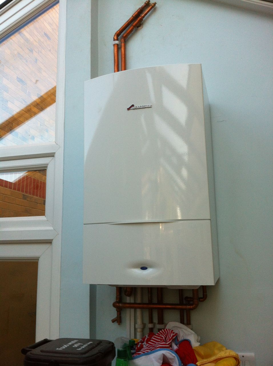 Weather compensation on a Bosch boiler in West Norwood - Hot Water ...