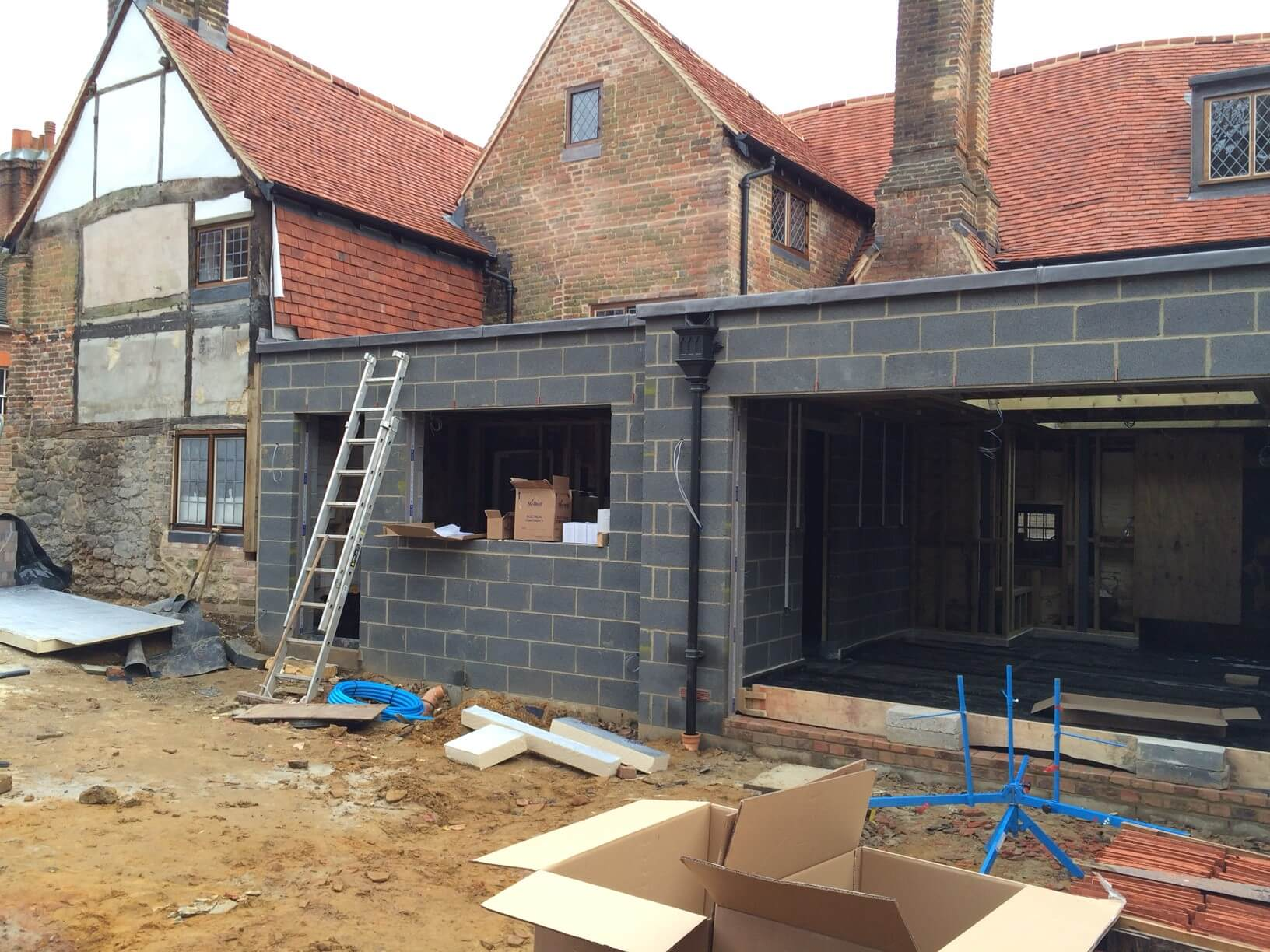 English Heritage Allowed A Large Extension At The Rear Of House All New Areas Have Underfloor Heating